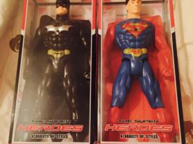 супергерои Бэтмен и Супермен