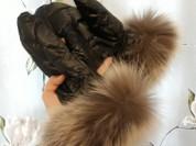 новые пуховые рукавицы naumi