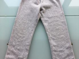 Tепленькие (флисовые) брюки р.5-6 лет(б/у) Унисекс