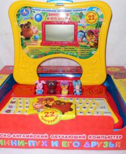 Обучающий компьютер Винни-Пух N97-R Умка. 22 программы