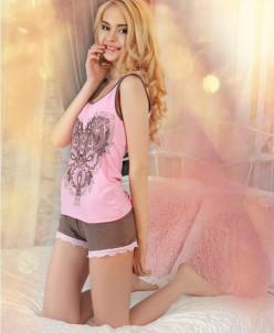 Пижама женская, ткань вискоза.