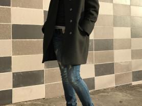 Дизайнерские пальто с воротником из норки