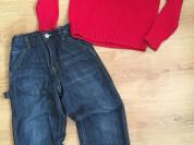 Свитер Ralph Lauren и джинсы Gymboree р.134