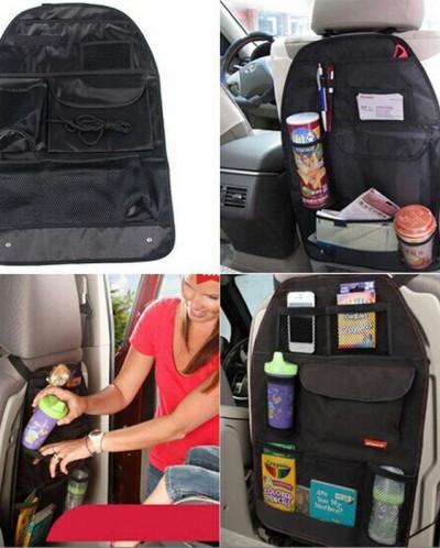 Авто-органайзер на спинку сидения с кармашками