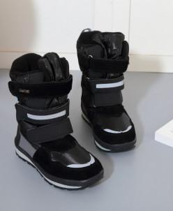 Детские дутики King Boots KB507GR Grau Серый