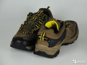 Кроссовки новые, натур. замша+текстиль, 23 DEC