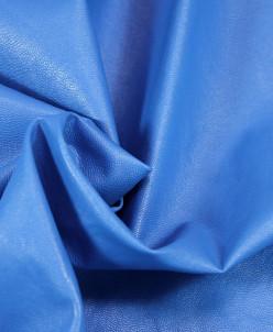 Экокожа ослепительно-синего цвета