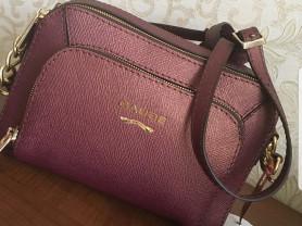 Новая сумка кроссбоди натуральная сафьяновая кожа