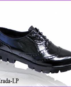Лакированные туфли-броги