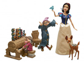 Подарочный набор Белоснежка с гномами. Disney