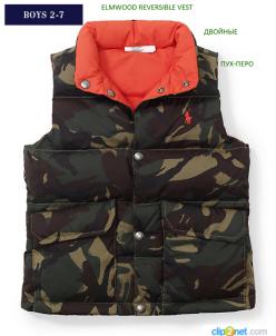 VIP - гардероб для мальчиков осень -зима жилет