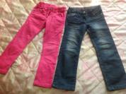 Летние джинсы и брюки 110-116