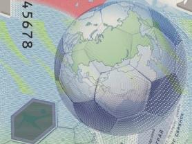 Купюра 100р Футбол Чемпионат Мира