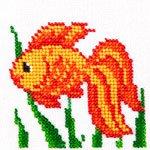 """Набор для вышивания бисером LOUISE арт. L463 """"Золотая рыбка"""""""