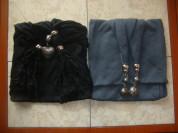 Хлопковые шарфики с бижутерией.