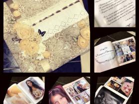 разработка свадебных фотокниг из ваших фото в мягкой обложке ручной работы !