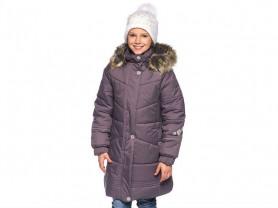 Зимнее красивое пальто ф. Lenne 140 см.
