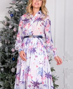 Платье Рафаэлла сирень П-208-2