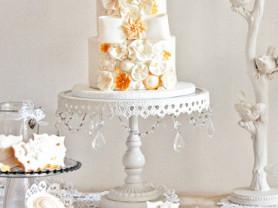 Металлические подставки для тортов  и кексов