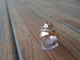 Позолоченное оригинальное кольцо!