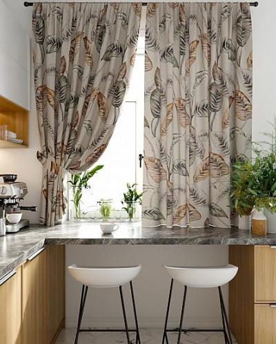 Комплект штор для кухни «Авонас»