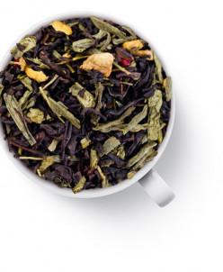 """Чай зелёный с чёрным """"С имбирем и малиной"""""""