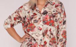 Блуза 227 абстракция