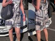 Оригинальное шелковое платье Oasis