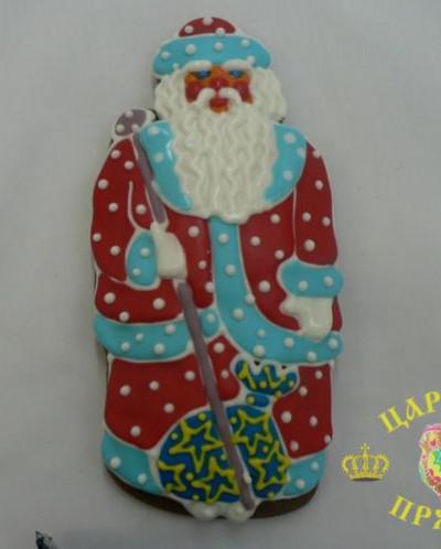 509 «Дед Мороз» большой 200х150 мм