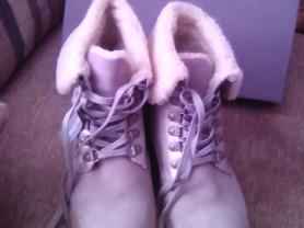 Новые зимние ботинки размер 38