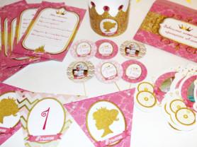 Набор для дня рождения принцесса 2