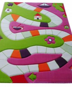 Ковер Игровая Дорожка ярко-розовый 160*230