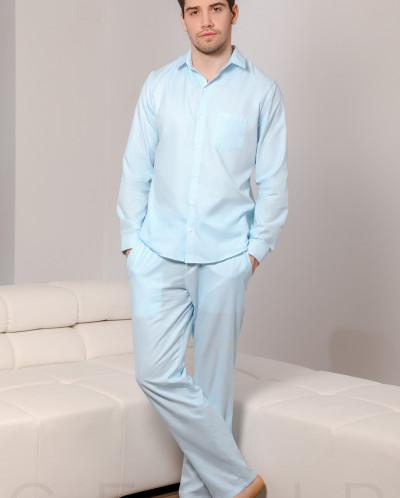 Уютная пижама в полоску