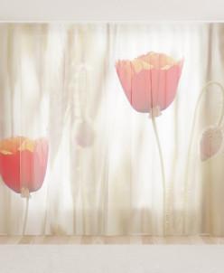 Фототюль Два тюльпана 5,50 * 2,60