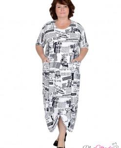 Платье Модель №619 размеры 50-76