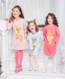 Платье - стильного А образного силуэта -4 цвета