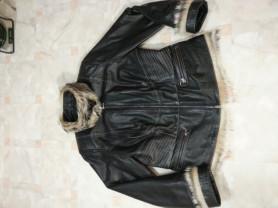 """Кожаная куртка, раз. EU 44 """"Le Monigue"""""""
