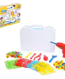Конструктор в чемоданчике «Создавай и играй», 205 деталей