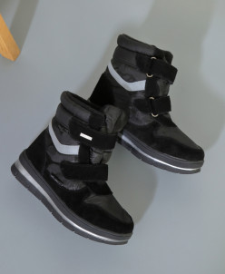 Дутики King Boots KB509SW Schwarz Черный