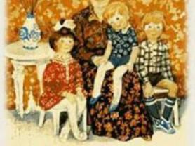 Летова Бабушка и мы Худ. Большакова 1981