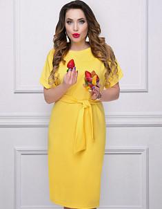 Платье Женевьева лайт (лимон) ДЛЯ ЯРКИХ