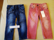 Новые джинсы р.18-24 Armani и YSL