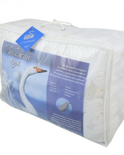 Одеяло Лебяжий пух 140/205, 300 гр.
