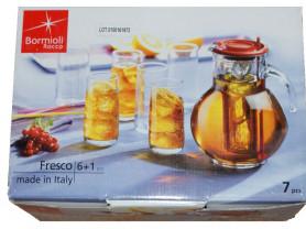 Набор кувшин со стаканами BORMIOLI ROCCO Италия