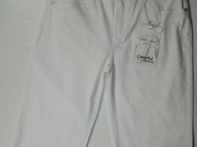 Бриджи  новые, белые, джинсовые, р.50-56