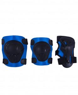 Комплект защиты Armor, черный/синий