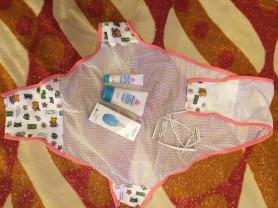 одежда на девочку 1-3 месяца