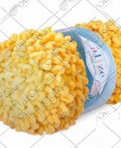 "Пряжа ALIZE ""PUFFY FINE OMBRE batik"" (500 г) 7278 (желтый)"