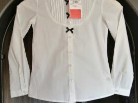 Новая школьная блузка д/д Waikiki 128р.