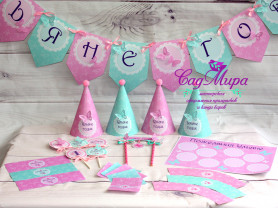 Декор для оформления дня рождения с Бабочками